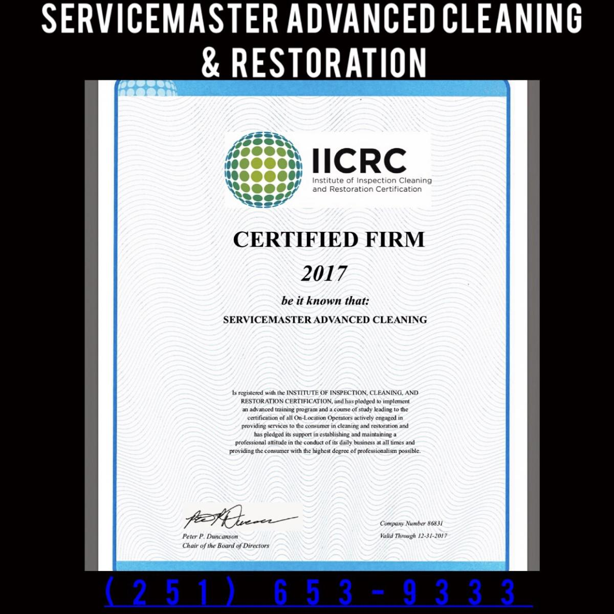 Iicrc Certified Company For Water Damage Restoration Fire