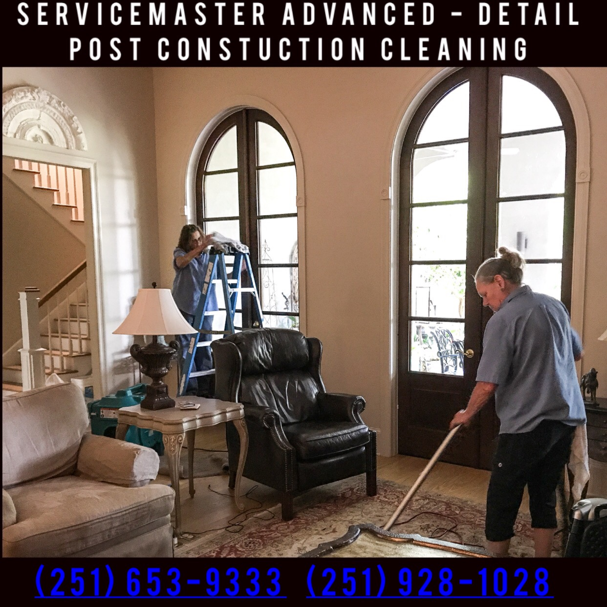 Your Project In On Time Mobile Baldwin County ServiceMaster Advanced Services We Have Performed Huge Jobs For Some Of Alabamas