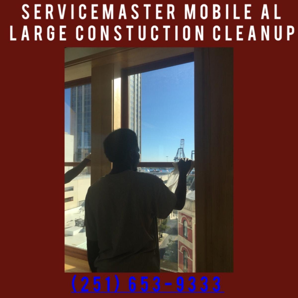 We Have Two Companies Serving Mobile And Baldwin County Alabama The Entire Gulf Coast For Post Construction Cleaning Can Marshall Forces Of Our