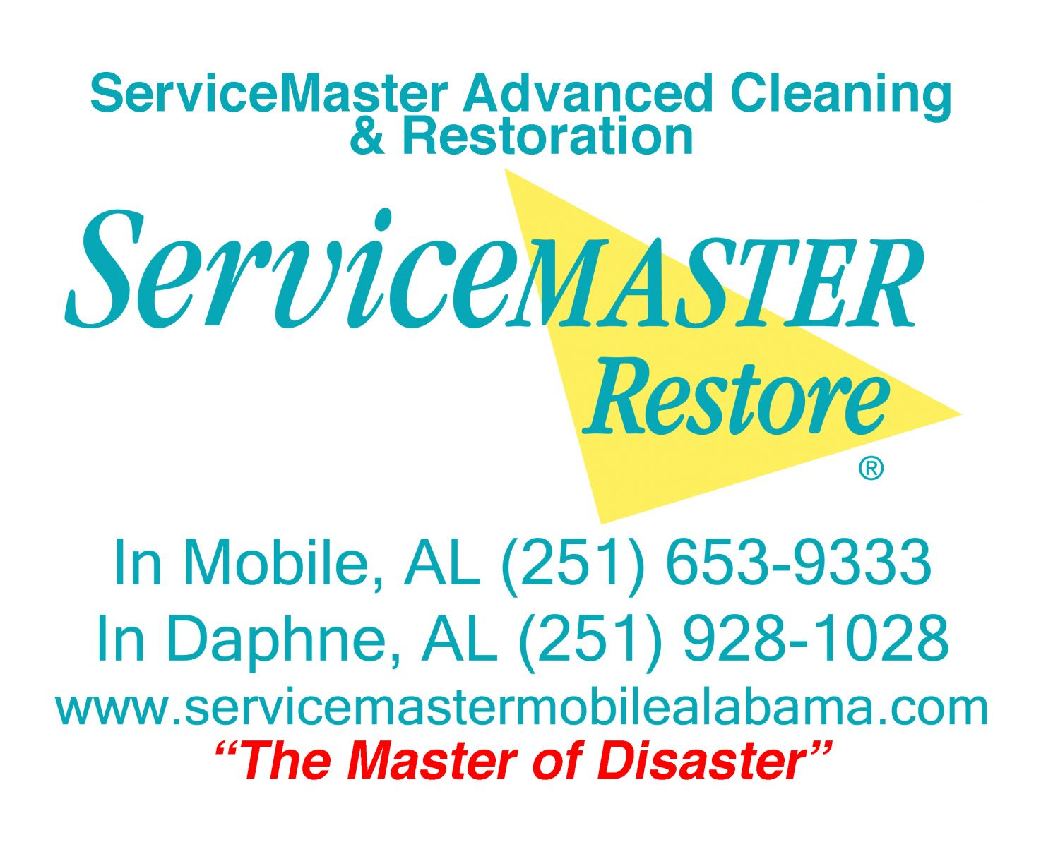 ServiceMaster Advanced Cleaning & Restoration - Daphne, AL - Mold